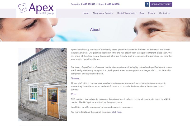 Apex Dental Group About