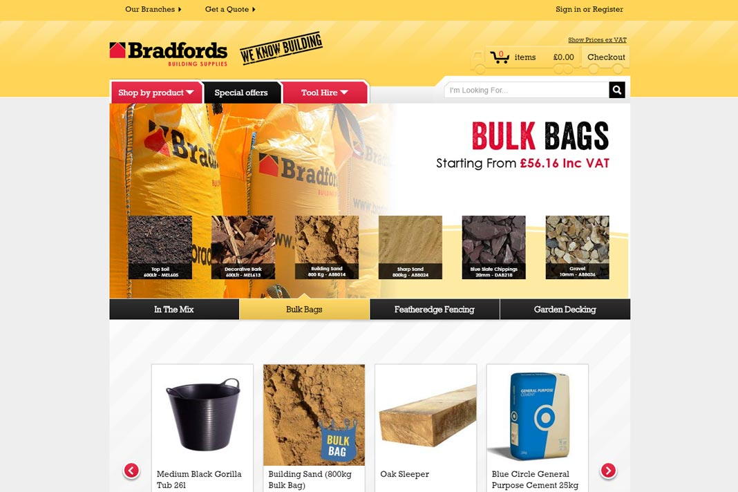 Building Supplies In The South West Bradfords South