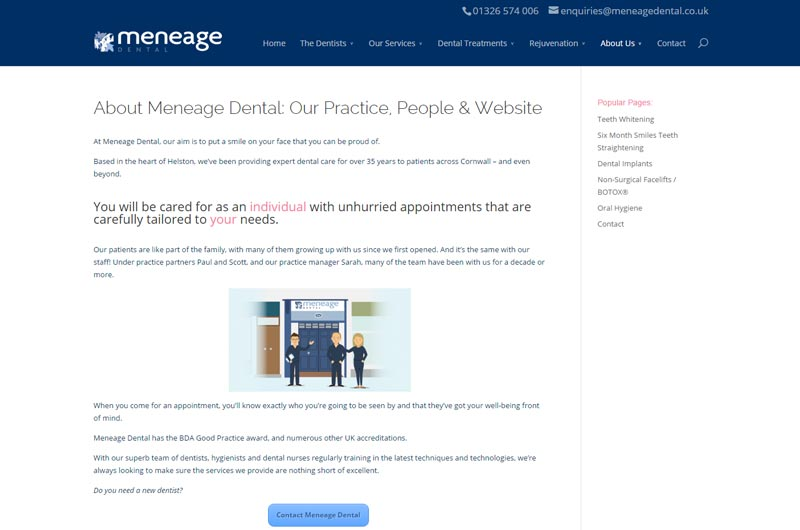Meneage Dental - top dentists in Cornwall