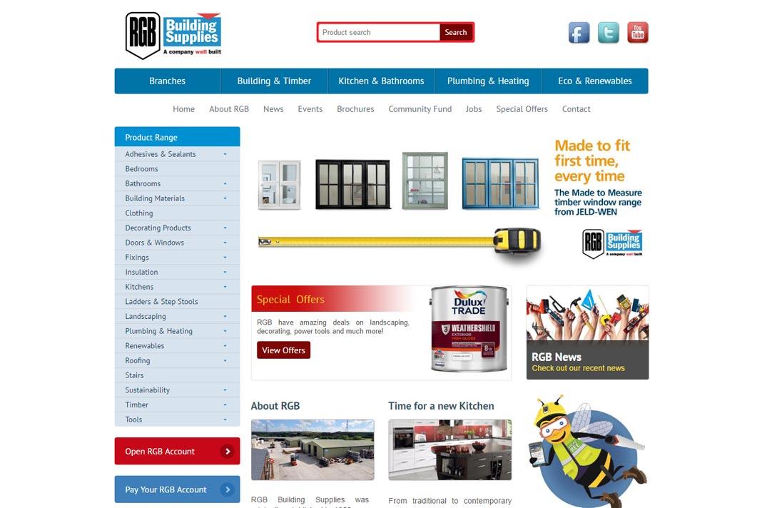 RGB Building Supplies Cornwall, Devon & Somerset - South