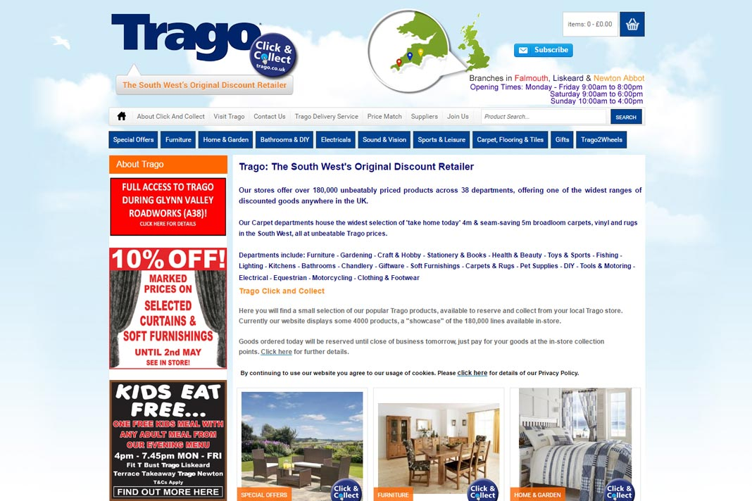 Trago Mills Newton Abbot Dining Room Furniture